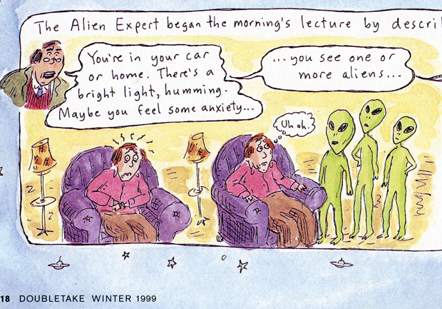Aliens Ahoy copyright 1999 Roz Chast